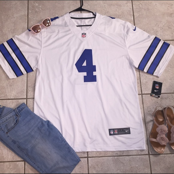 263f4fcd951 Nike Shirts | Dak Prescott Dallas Cowboys Jersey With Tags | Poshmark